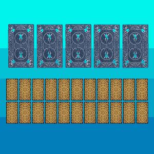 Tarô do sim ou não com 5 cartas